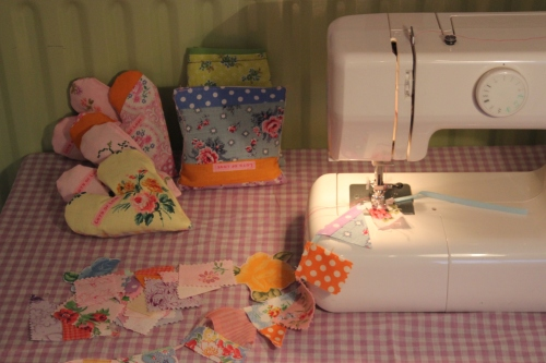 Making my bunting