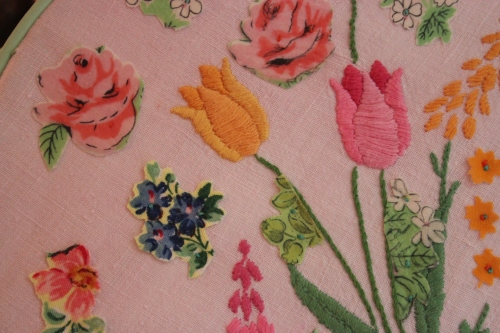 Vintage embroidery brought back to life