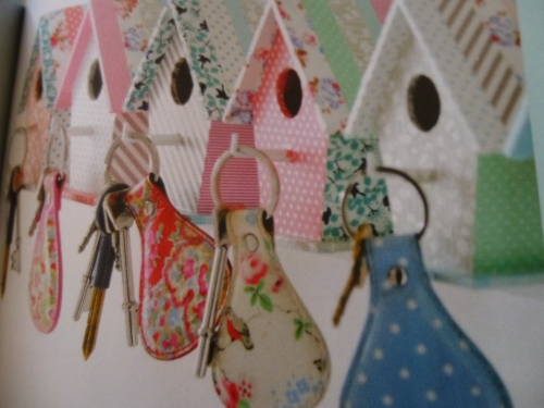Birdhouse Key rack