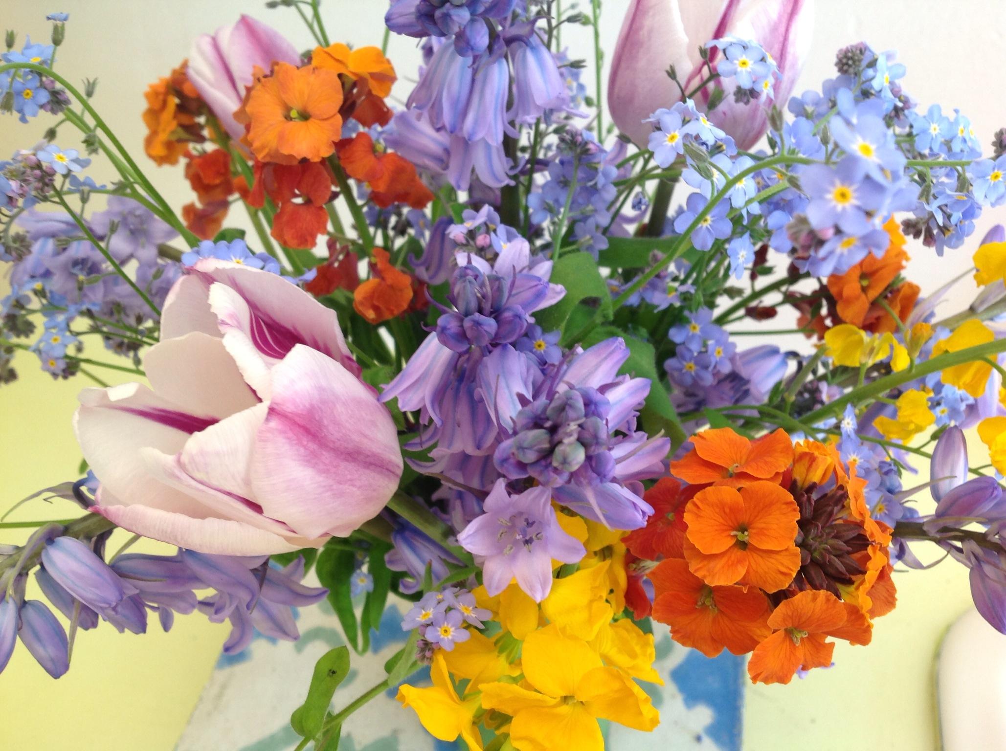 Wall flowers